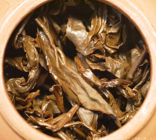 鹿野蜜香紅茶茶殻